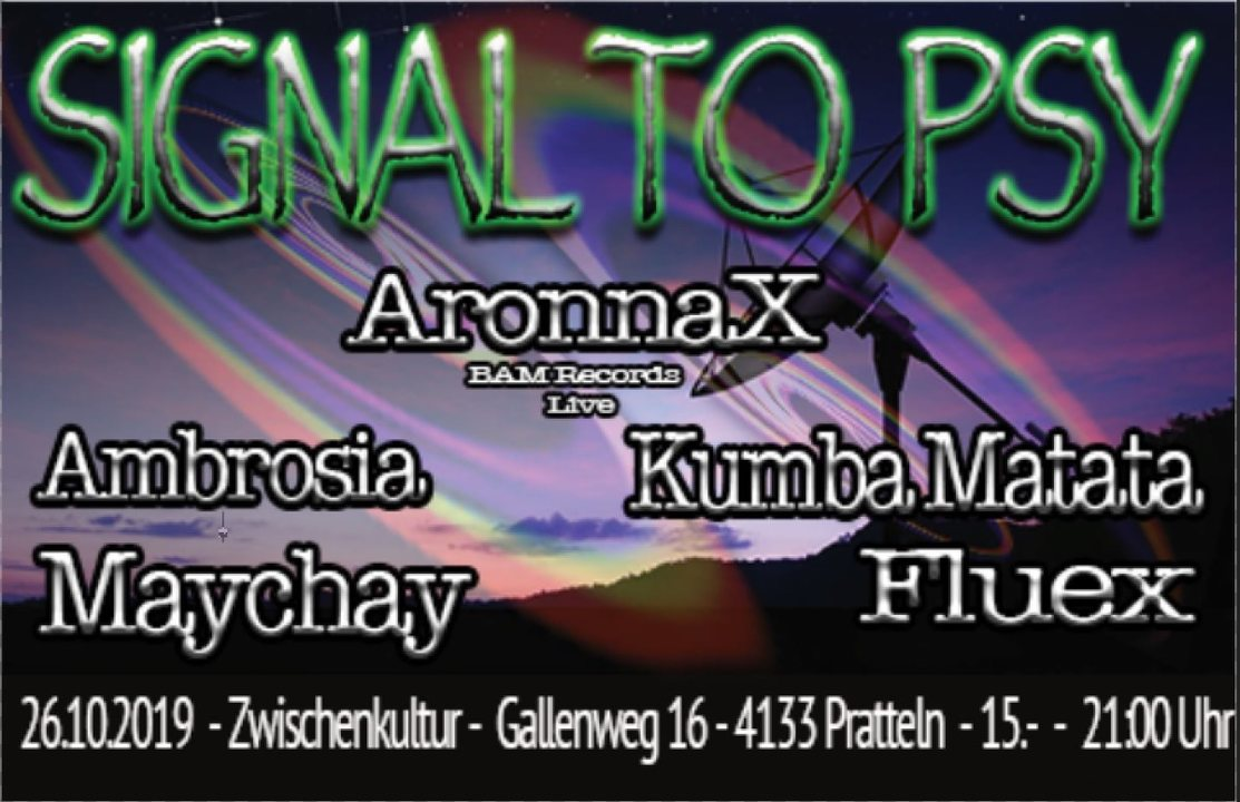 Signal to Psy 26 Oct '19, 21:00