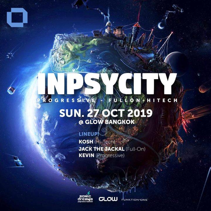 Inpsycity w/ Kosh, Jack the Jackal & Kevin ! 27 Oct '19, 21:30