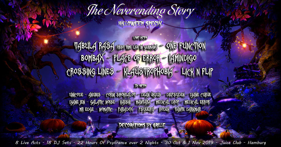 TNS: Halloween Special with 2 nights of goa (Part 1) 30 Oct '19, 23:00