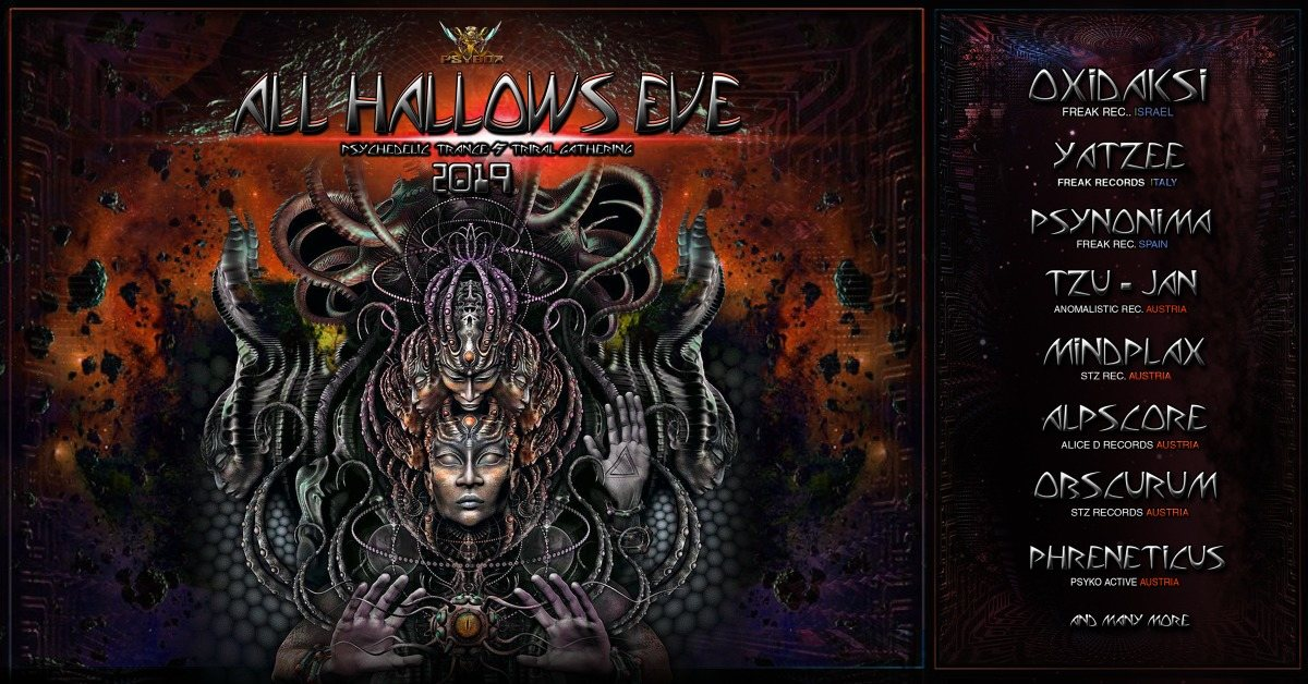 Psybox - All Hallows Eve 2019 ॐ 31 Oct '19, 22:00