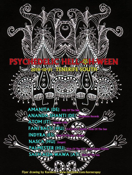 Psychedelic Hell-Oh-Ween 31 Oct '19, 18:00
