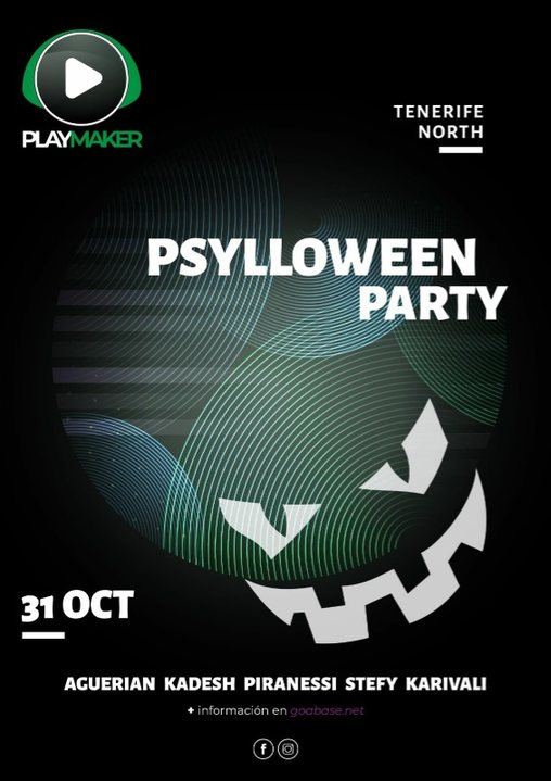 PSYLOWEEN 31 Oct '19, 22:00