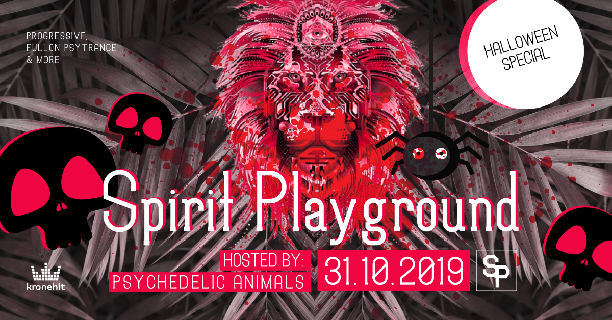 ✷ Spirit Playground ✷ Halloween Special 31 Oct '19, 22:00