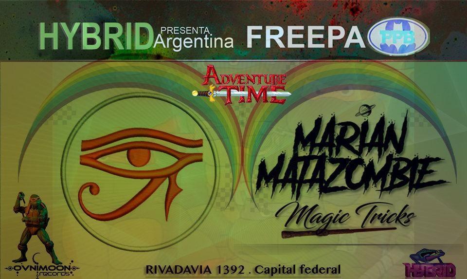 Free party at PPB // Psytrance night // Hybrid Argentina 1 Nov '19, 22:30