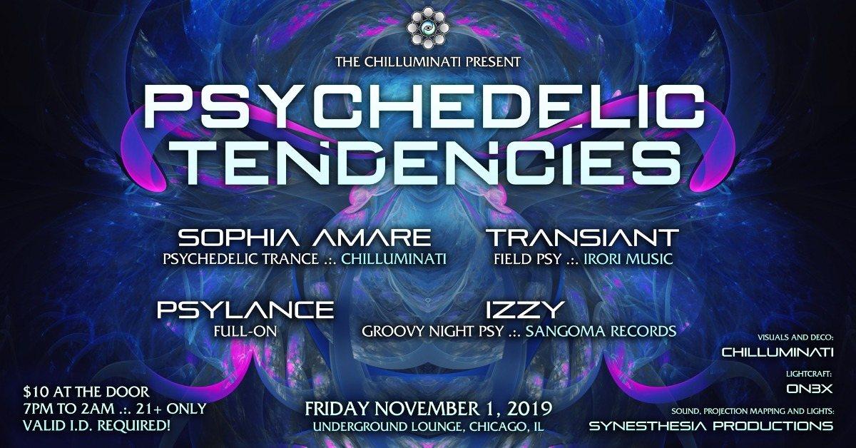 Psychedelic Tendencies 1 Nov '19, 19:00