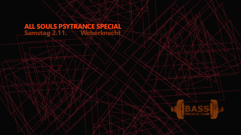 All Souls Psytrance Special 2 Nov '19, 22:00