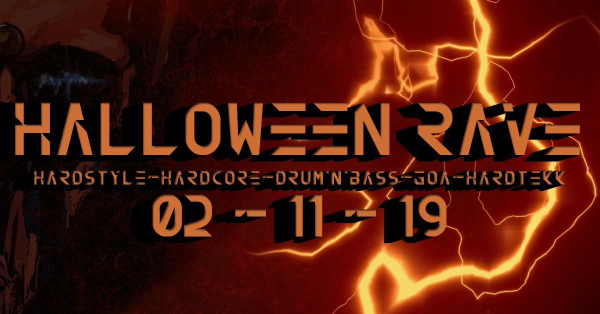 Halloween Rave - Goa & DnB 2 Nov '19, 22:00