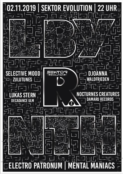 LBY R NTH II w/ Selective Mood und Nocturnes Creatures *live* 2 Nov '19, 22:00