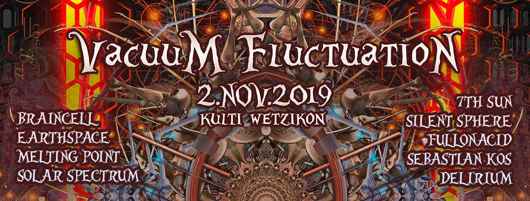 Vacuum Fluctuation 2 Nov '19, 22:00