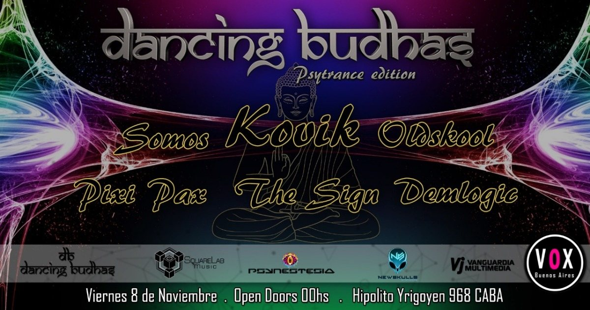 Dancing Budhas 100% Psytrance Edition 8 Nov '19, 23:30