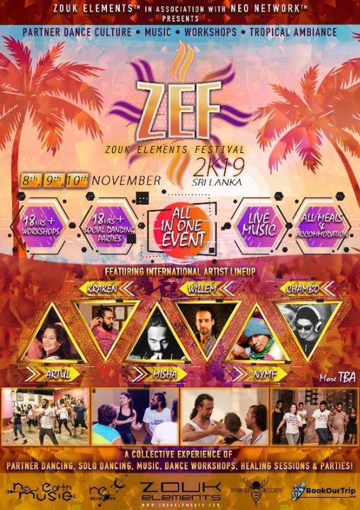 ZEF 2K19 Sri Lanka in association with NEO Network 8 Nov '19, 16:00