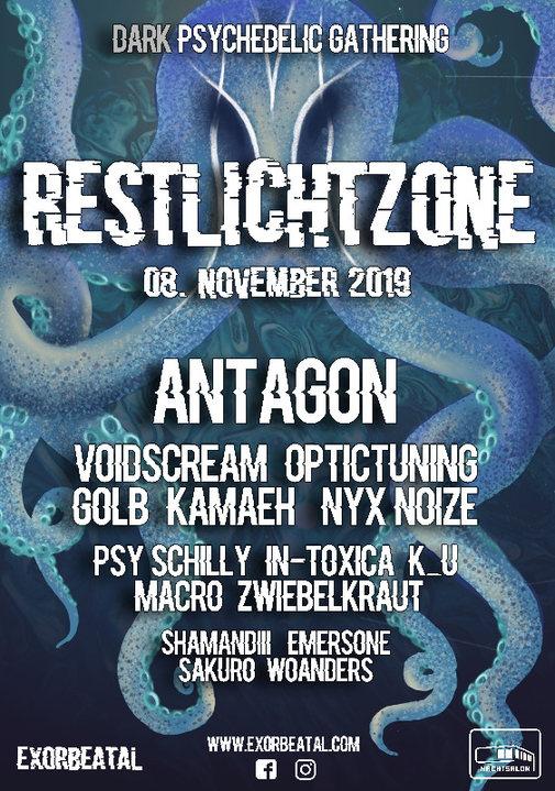 Restlichtzone II / Antagon LIVE 8 Nov '19, 22:00