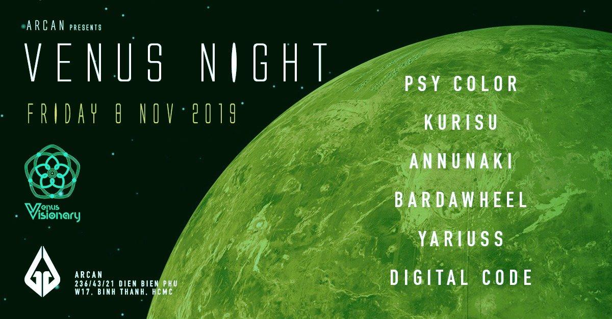 Venus Night 8 Nov '19, 22:00
