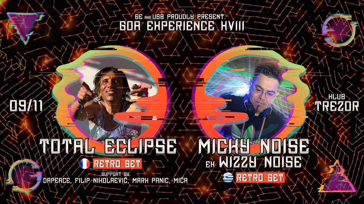 GOA EXPERIENCE XVIII 9 Nov '19, 23:00