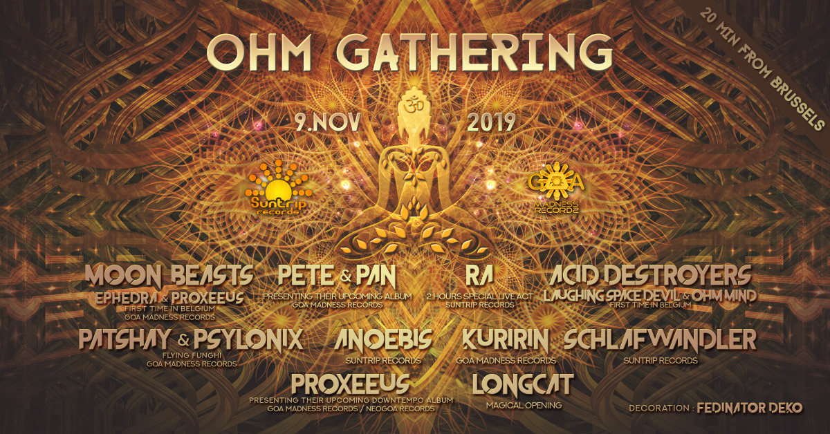 Ohm Gathering 9 Nov '19, 18:00