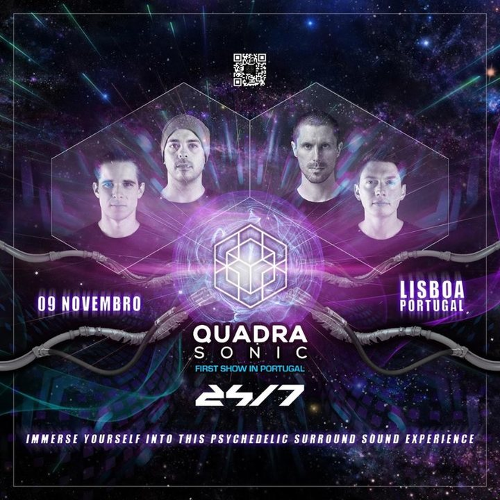 Quadrasonic - Psytrance in Surround Sound First time in Lisboa 9 Nov '19, 22:00