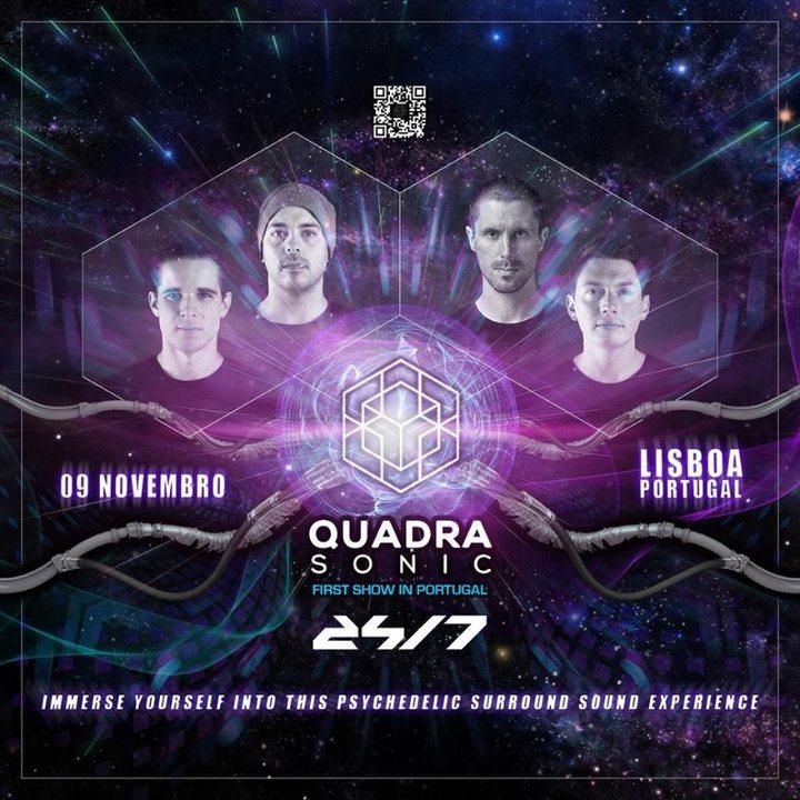 Quadrasonic - Psytrance in Surround Sound First time in Lisboa 9 Nov '19, 22:00