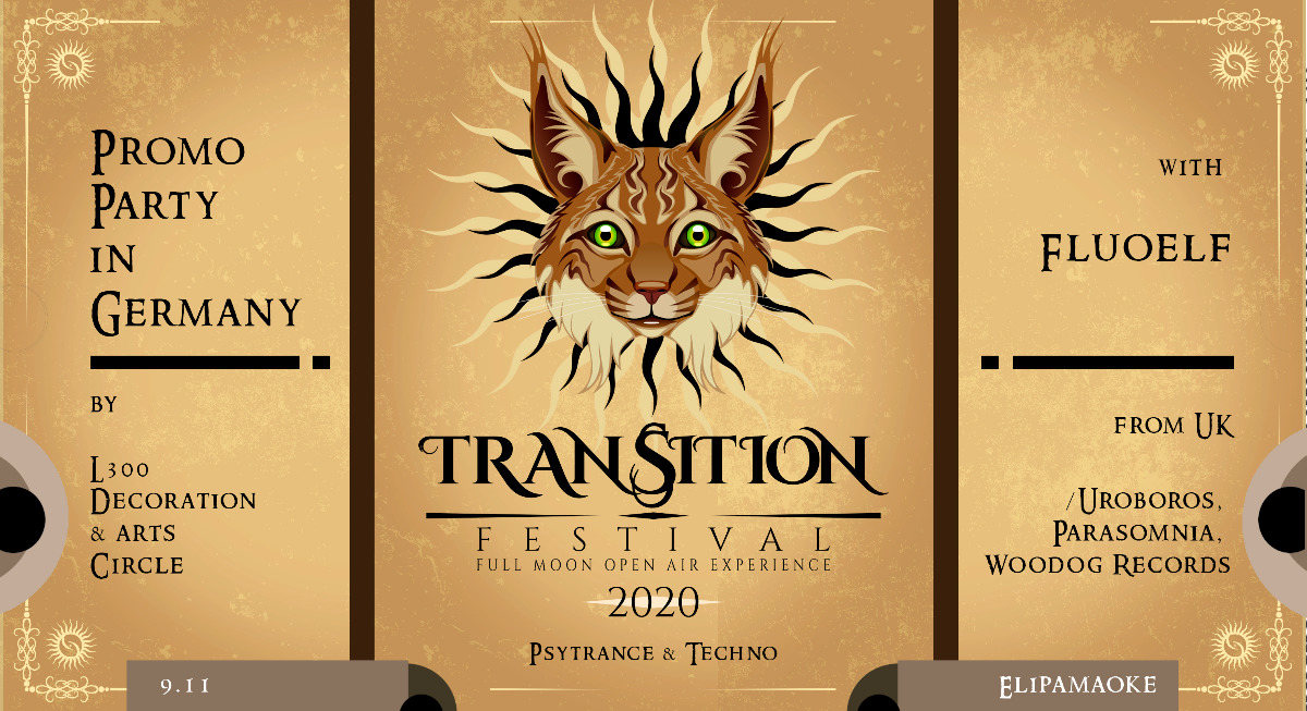 Transition Festival 2020 Promo Party in Germany 9 Nov '19, 23:00