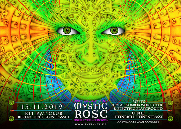 The Mystic Rose meets 30 Year KOXBOX Tour & Electric Playground 15 Nov '19, 23:00