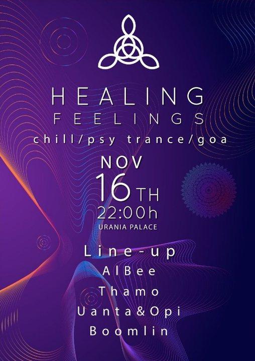 Healing Feelings 16 Nov '19, 22:00