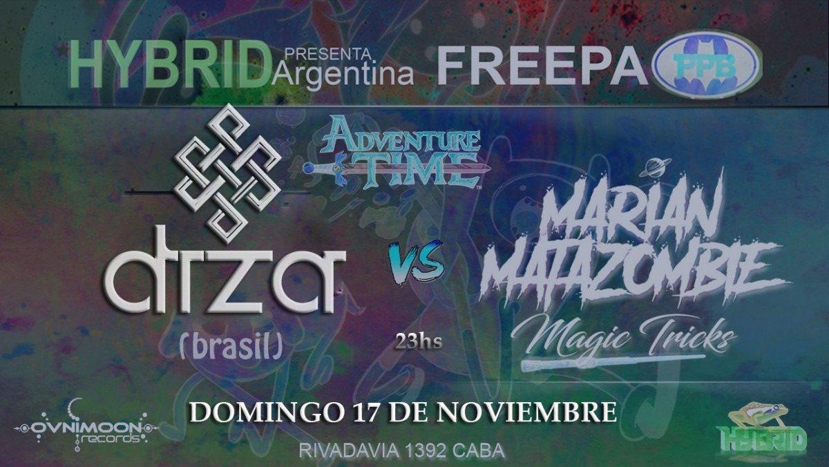 Hybrid argentina pres. DIZA (Zenon records) // Brasil // 17 Nov '19, 22:30
