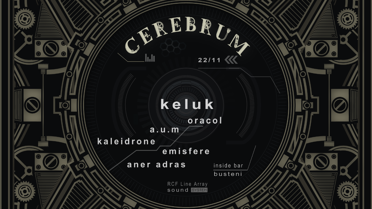 Cerebrum w/ Keluk & friends 22 Nov '19, 22:00