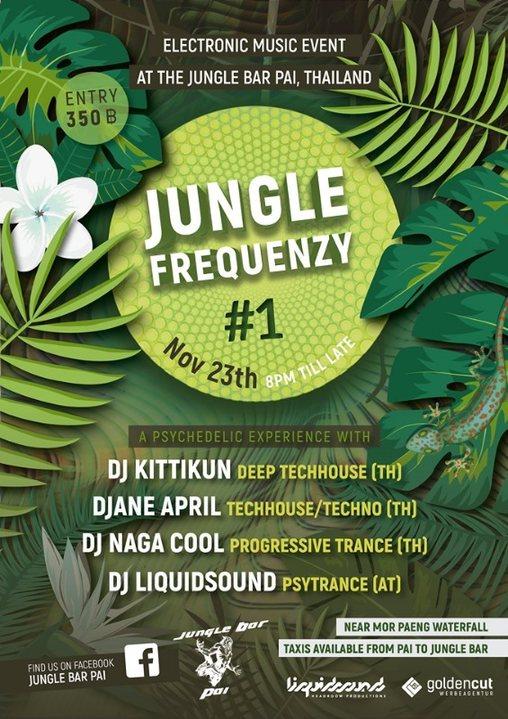 Jungle Frequenzy #1 23 Nov '19, 20:00