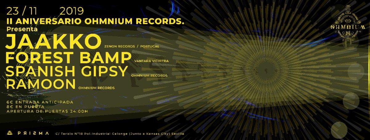 Ohmnium Records Anniversary : PRISMA INVITA 23 Nov '19, 23:30