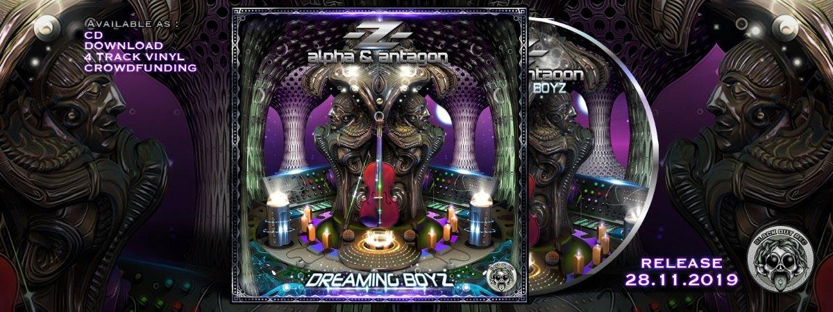 -Z- (alpha & antagon) - album release + home party + webradioshow live :) 28 Nov '19, 18:00