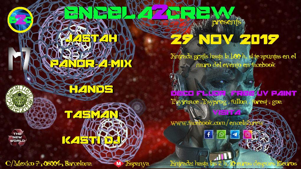 ENCELA2CREW PRESENTS: 29 Nov '19, 23:30