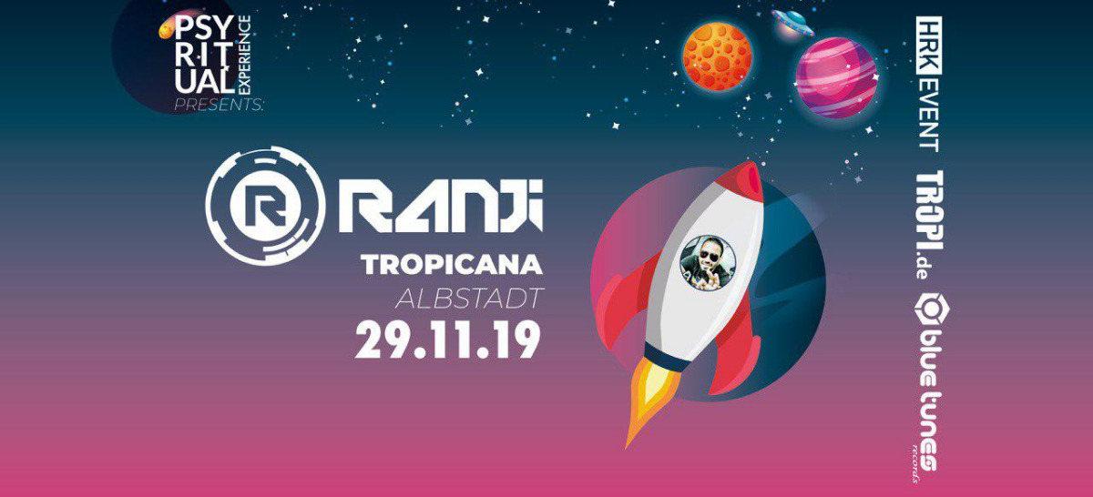PsyRitual Experience pres. Ranji (live) 29 Nov '19, 22:00