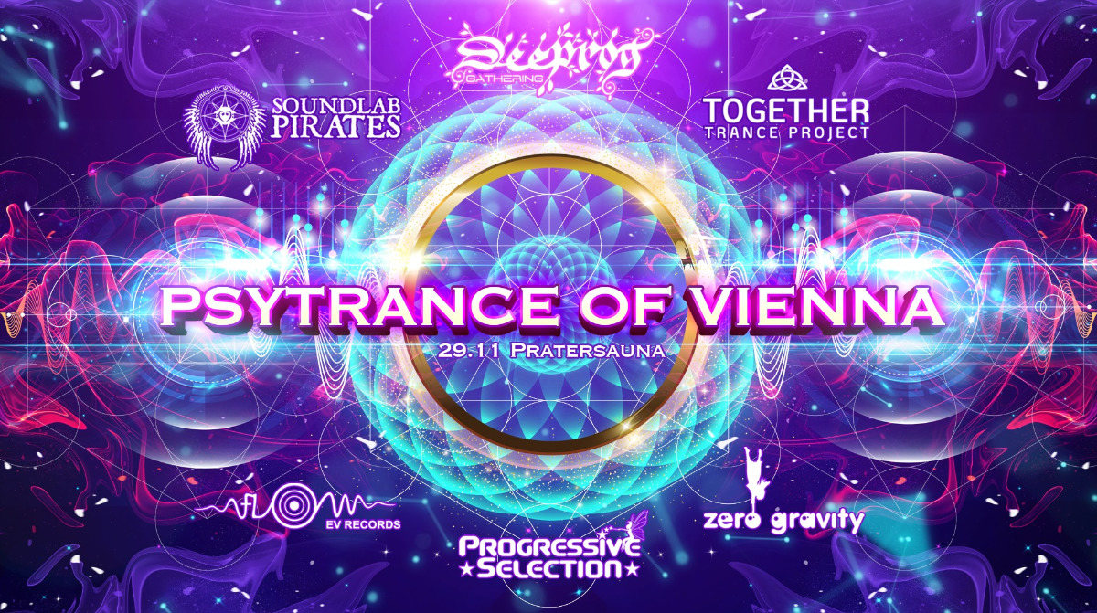 PSYTRANCE OF VIENNA - 6 Crews on 4 Floors! 29 Nov '19, 23:00