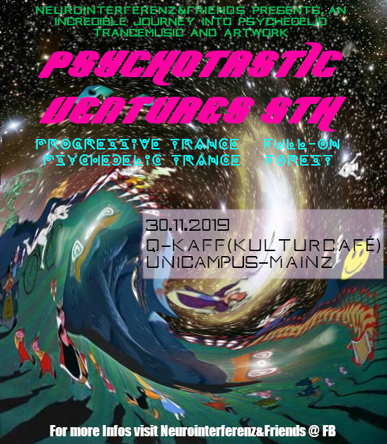 Psychotastic Ventures 5 30 Nov '19, 22:00