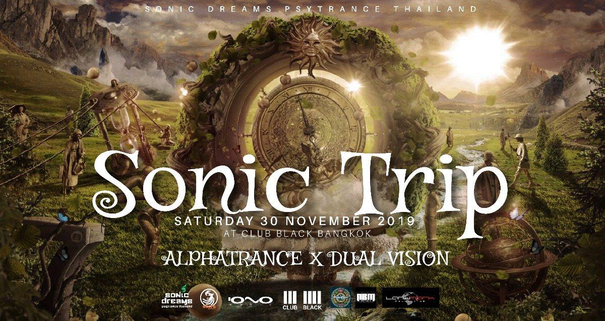 Sonic Trip : Alphatrance x Dual Vision 30 Nov '19, 21:30
