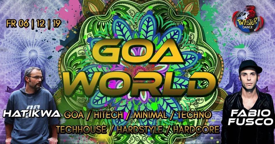 Goa World | Hatikwa | Fabio Fusco | 4 Floors 6 Dec '19, 22:00