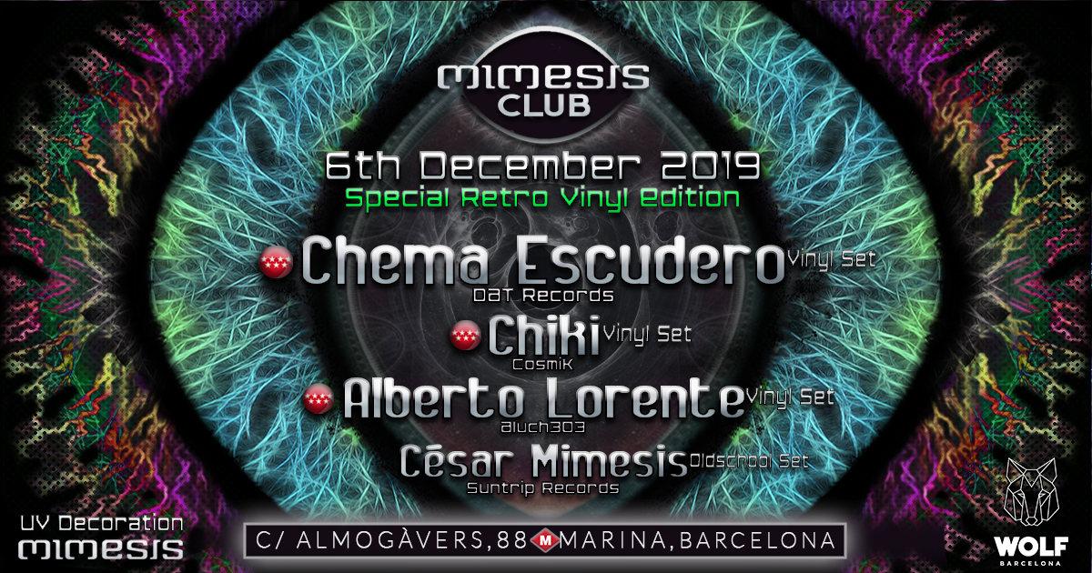 Mimesis CLUB - December / Special Retro Vinyl Edition! 6 Dec '19, 23:30