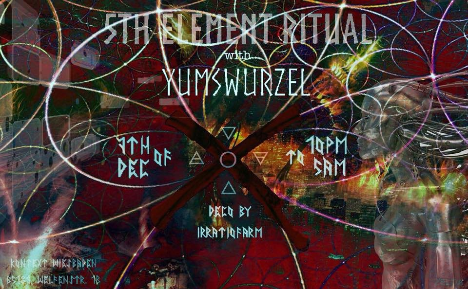 5th Element Ritual 7 Dec '19, 22:00