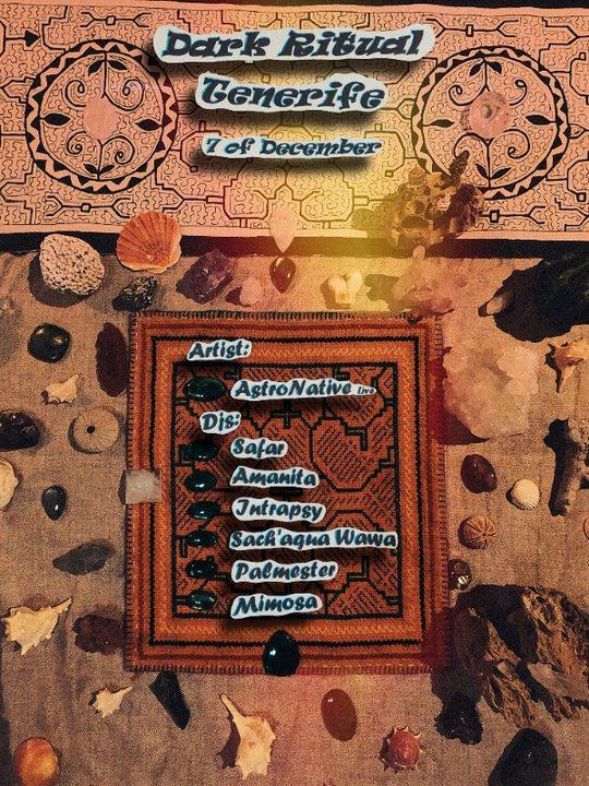 Dark Ritual Tenerife ---AstroNative live--- (Kunalaya records) 7 Dec '19, 18:00