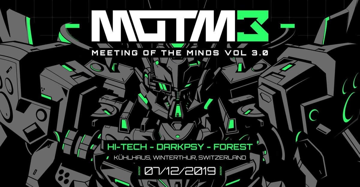 Meeting of the Minds 3.0 7 Dec '19, 22:00