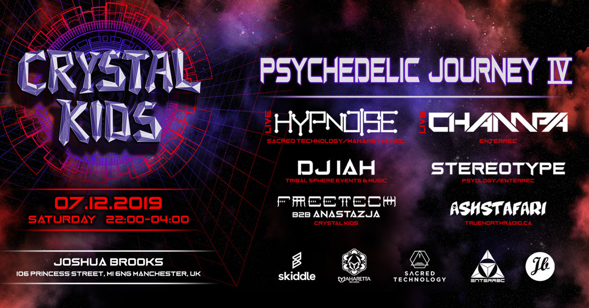 Psychedelic Journey IV 7 Dec '19, 22:00