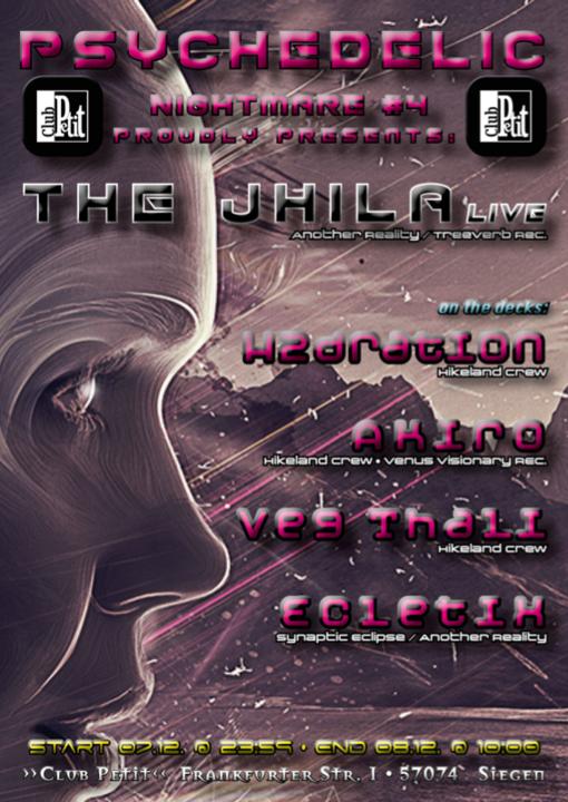 Psychedelic Nightmare #4 The Jhila Live 7 Dec '19, 23:30