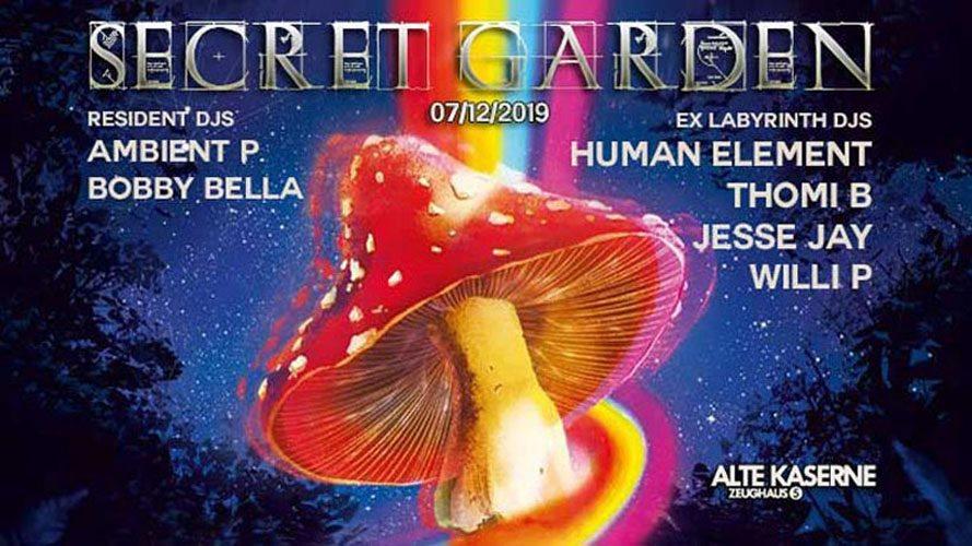 Secret Garden w/ EX Laby DJs 7 Dec '19, 23:00