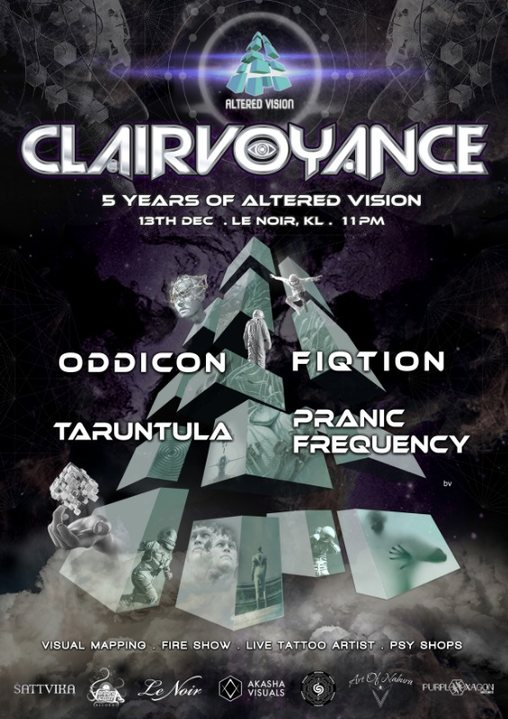 Altered Vision pres. Clairvoyance 5 years of Altered Vision 13 Dec '19, 23:00