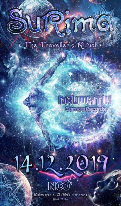 ๑ Surima - The Traveller's Ritual ๑ w/ Drumatik (live) 14 Dec '19, 22:00