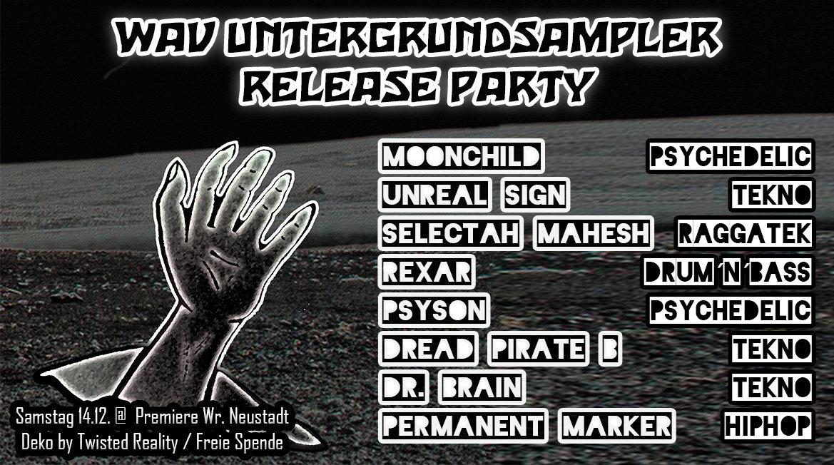 WAV Untergrundsampler Release Party 14 Dec '19, 22:00