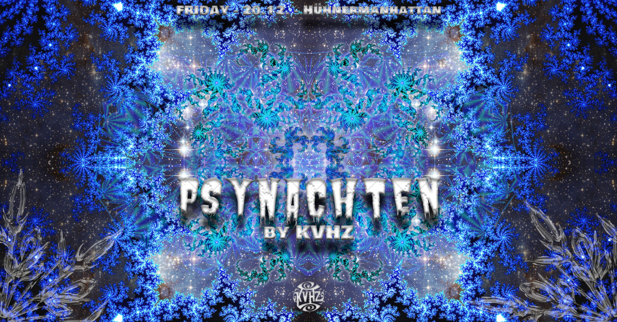 Psynachten by KVHZ 20 Dec '19, 22:00