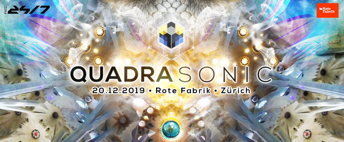 Quadrasonic Surround for the first time @ Rote Fabrik 20 Dec '19, 23:00