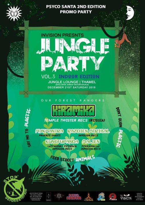 Jungle Party vol.3 21 Dec '19, 20:00
