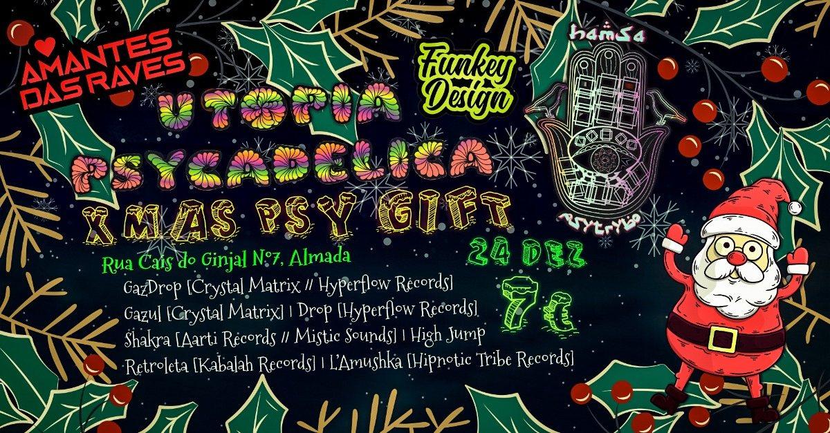 ॐ Hamsá PsyTrybo & Utopia Psycadelica ॐ Xmas Psy Gift ॐ 24 Dec '19, 23:30
