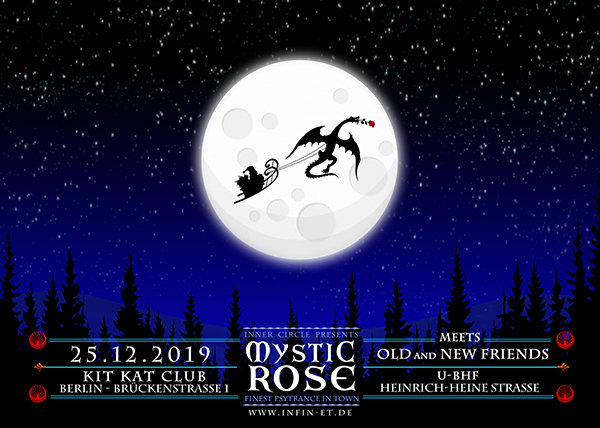 The Mystic Rose meets new and old Friends 25 Dec '19, 23:00